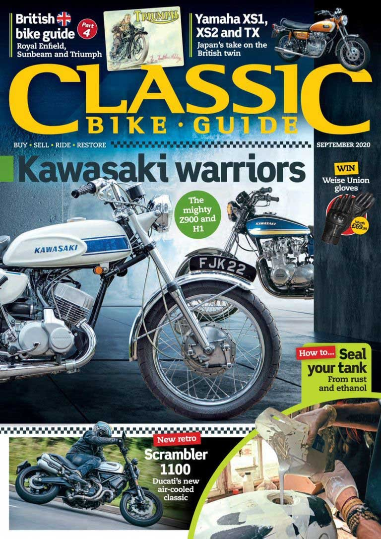 Classic Bike Guide - September 2020