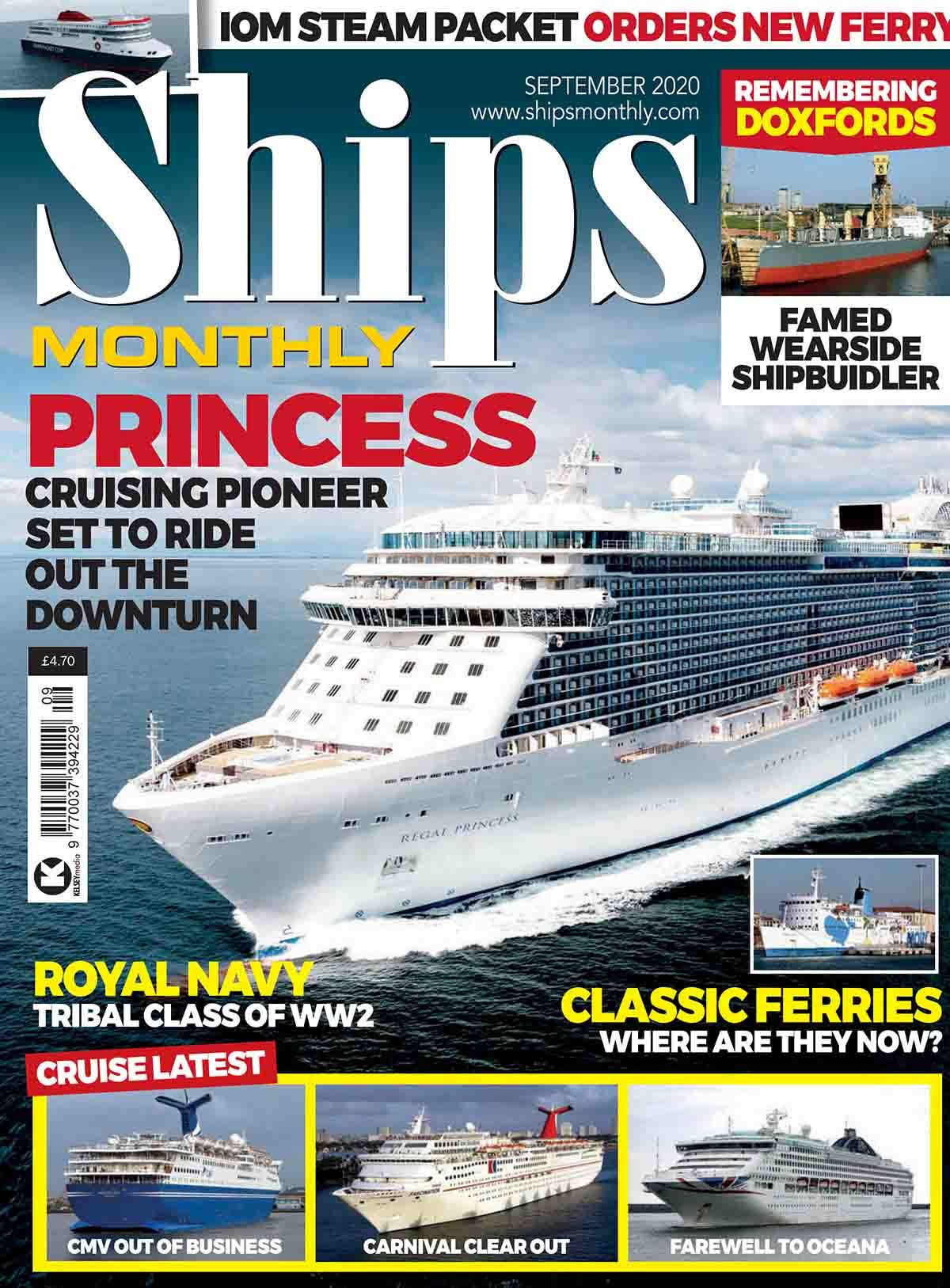 Ships Monthly - September 2020